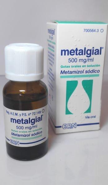 metamizol sodico jarabe para bebes